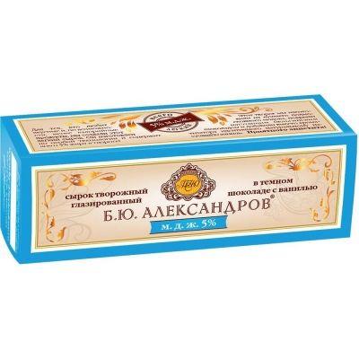 Сырок в шоколаде Б.Ю.Александров с ванилью