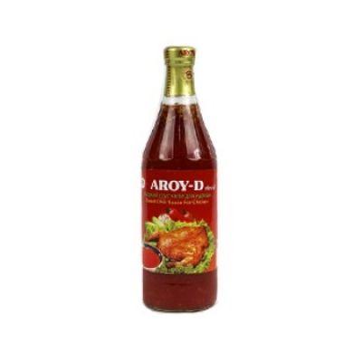 Соус сладкий чили Aroy-D для курицы стекло