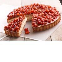 Торт Клубничный Bindi 12 порций замороженный