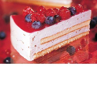 Торт Мусс йогуртовый с лесными ягодами Bindi 12 порций замороженный
