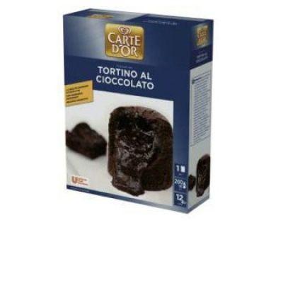 Смесь сухая десерт Шоколадный фондан тортино Carte D'or
