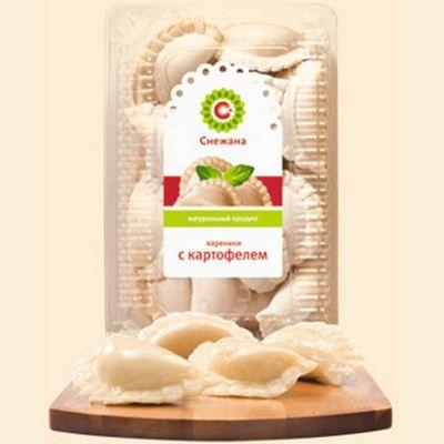 Вареники Снежана с картофелем и грибами замороженные