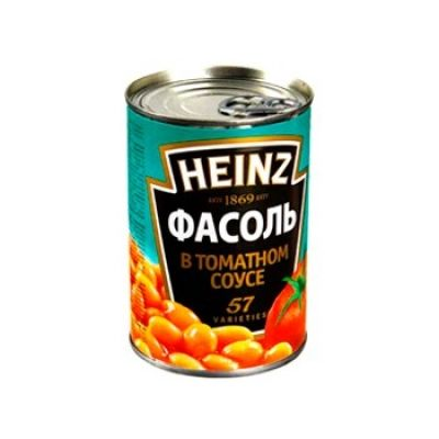 Фасоль белая в томатном соусе Heinz