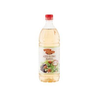 Уксус винный белый 6% Monari Federzoni пластик