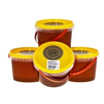 Мёд цветочный Медовый Век пластик