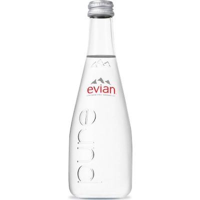 Вода Эвиан негазированная стекло