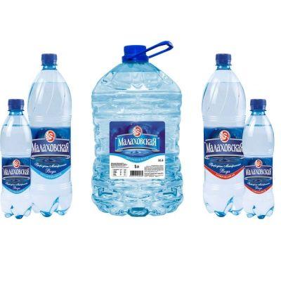 Вода Малаховская газированная пэт