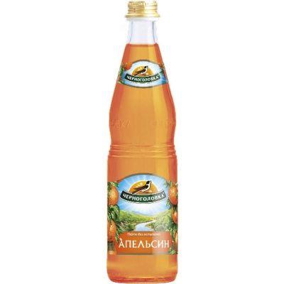 Лимонад Черноголовка Апельсин стекло