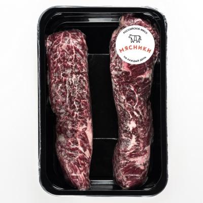 Стейк 'Мачете' из мраморной говядины замороженный 'Мясники'