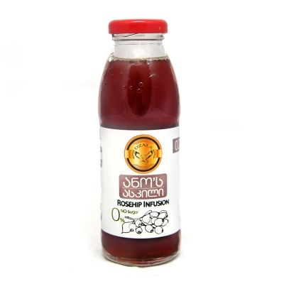 Напиток из шиповника без сахара Дзала