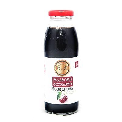 Сок вишнёвый без сахара Дзала