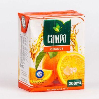 Сок КАМПА апельсиновый