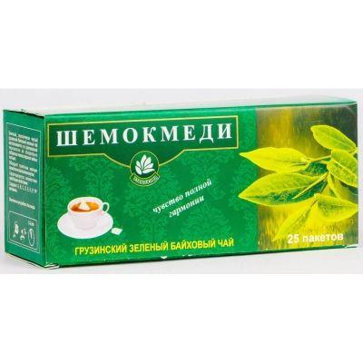 Чай зелёный в/с ШЕМОКМЕДИ 25 пак.