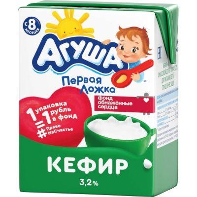 Кефир детский Агуша 3.2% TBA