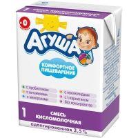 Смесь детская кисломолочная Агуша 1 3.5%