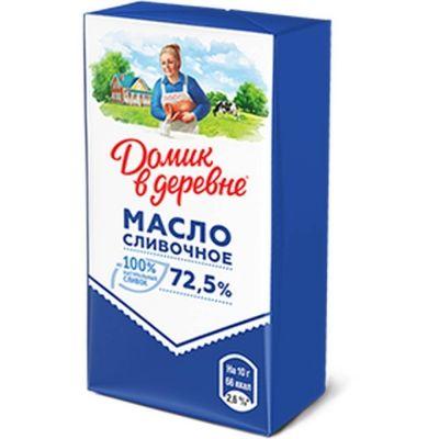 Масло сливочное Домик в деревне 72.5%
