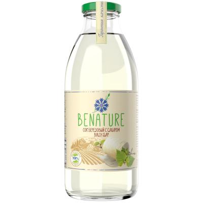 Сок березовый Benature с сахаром