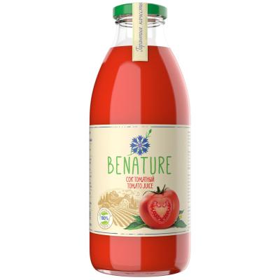 Сок томатный Benature с мякотью и солью восстановленный