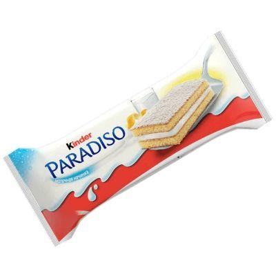 Снэк Киндер Парадизо с молочной начинкой