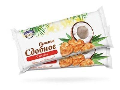 Печенье сдобное 'с Кокосом'