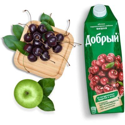 Сок Добрый вишня+рябина+яблоко