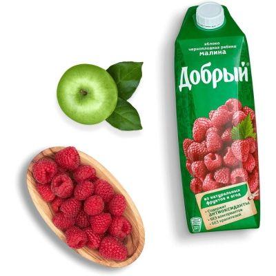Сок Добрый малина, рябина, яблоко