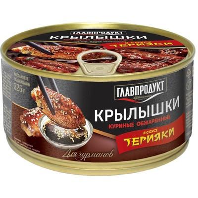 Крылышки куриные Главпродукт в соусе терияки