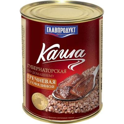 Каша Главпродукт Губернаторская гречневая с говядиной