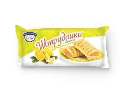 Слоеный Десерт 'Штрудлики' с Лимоном