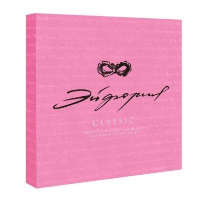 Конфеты 'Эйфория Classic' розовая коробка