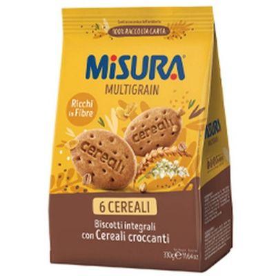 Печенье 'Misura' мультизерновое с древними зерновыми культурами Multigrain