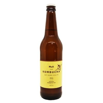 Напиток M&A Комбуча Манго стекло
