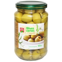 Оливки зеленые Belle France без косточки стекло