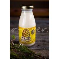 Молочко кедровое Секрет Сибирского Здоровья с медом стекло