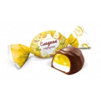 Конфеты 'Сладкое созвучие' вкус груша с ванилью