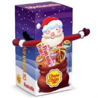 Набор конфет Fruittella & Chupa Chups Санта Клаус