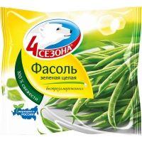 Фасоль зеленая стручковая 4 Сезона замороженная