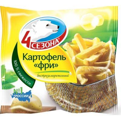 Картофель фри 4 Сезона замороженный