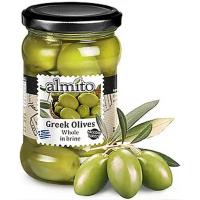 Оливки ALMITO греческие с косточкой, ст/б