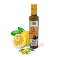 Масло оливковое СRETEL ESTATE c лимоном Extra Virgin, кислотность 0,3, ст/б