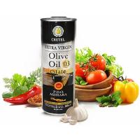 Масло оливковое СRETEL ESTATE, P.D.O Extra Virgin кислотность 0,3, ж/б