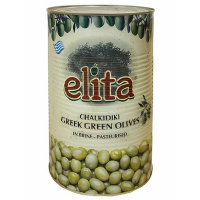 Оливки ELITA греческие с косточкой Супергигант 70-90