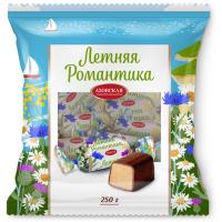 Конфеты Азовская кондитерская фабрика Летняя романтика помадные глазированные