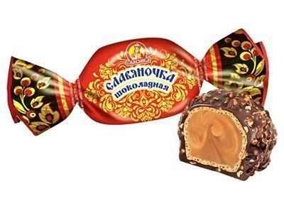 Конфеты 'Славяночка' шоколадная