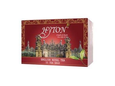 Чай 'Хайтон' черный Английский Королевский (50 пакетов по 1,8г)