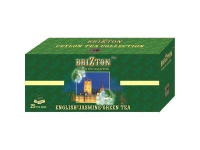 Зеленый чай 'Brizton' с жасмином (25 пакетов по 2г)