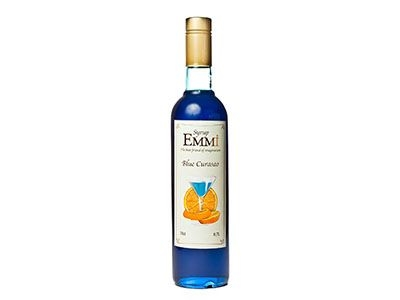 Сироп 'Emmi' Блю Кюросао (стеклянная бутылка 0,7л)
