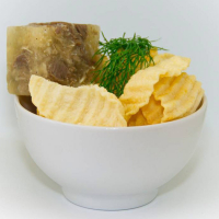 Чипсы Апрель рифленые со вкусом холодца с хреном