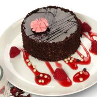 Торт Виктория Шоколадно-Малиновый