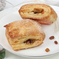 Печенье Король Сладостей Вкусняшки с яблоком и изюмом (слойка)
